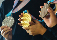 Olympic Medals Unveiled - National News II