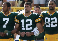 NFL Players Protest National Anthem - Sports