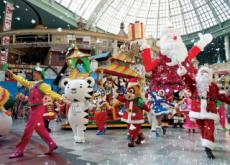 Christmas Festivals In Amusement Parks - In Spotlight