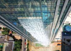A 108-M-Tall Artificial Waterfall - World News II