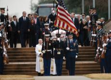 Former U.S. President Bush Laid To Rest - Headline News