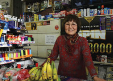 Chasing Away A Thief With Bananas - World News I