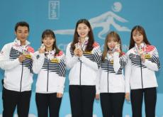 Korean Women's Team Sets Curling Record - Sports