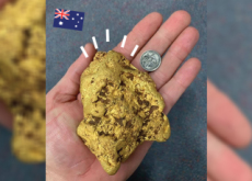 Massive Gold Nugget Found in Australia - World News I