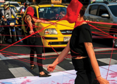 Medellin's Recent Feminist Performance - Photo News