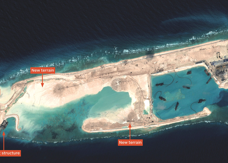 New Lighthouses on the Spratly Islands