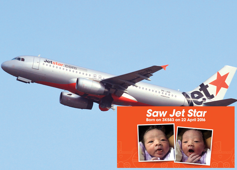 Say Hello to Baby Jet Star