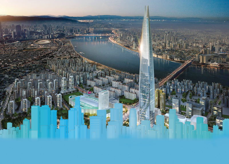 Soaring High: Lotte World Tower0