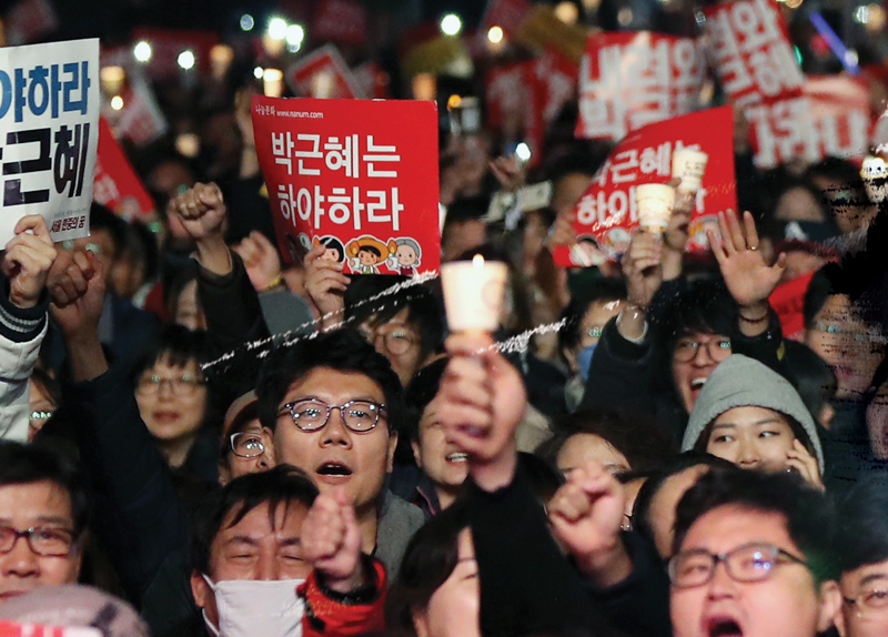 A Million Voices: President Park Reeling from Controversy0