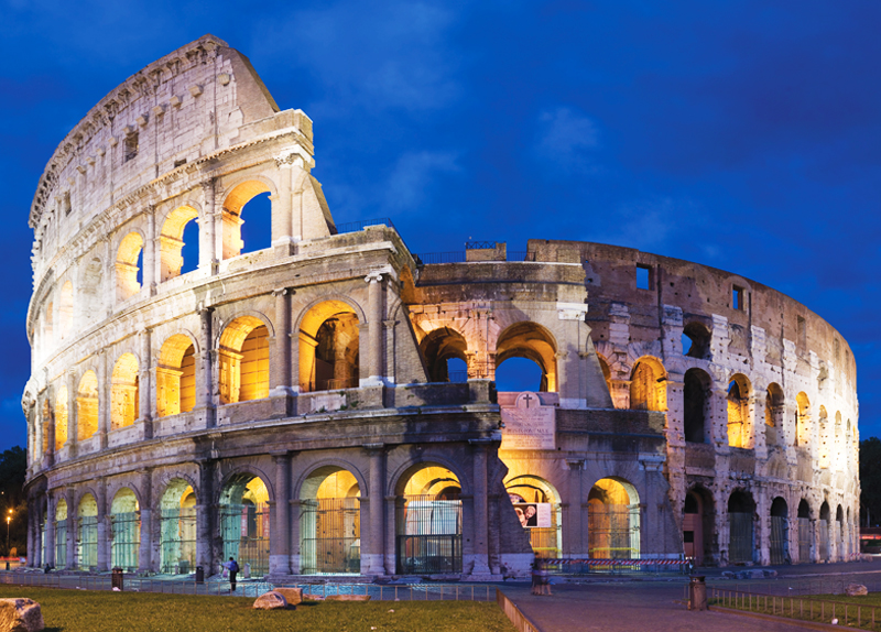 Grand Structures Of Ancient Romans0