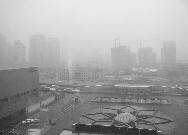 Winter Air Pollution In China4