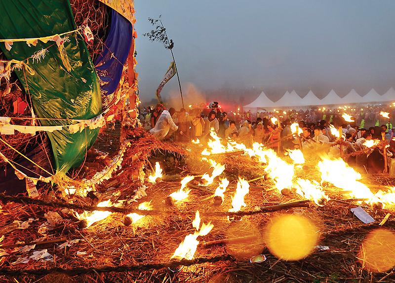 Jeju Fire Festival0
