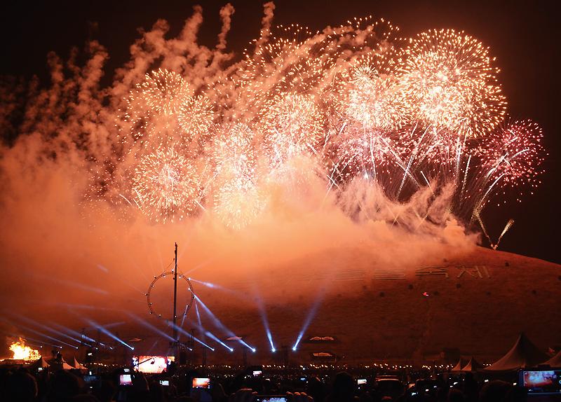 Jeju Fire Festival4