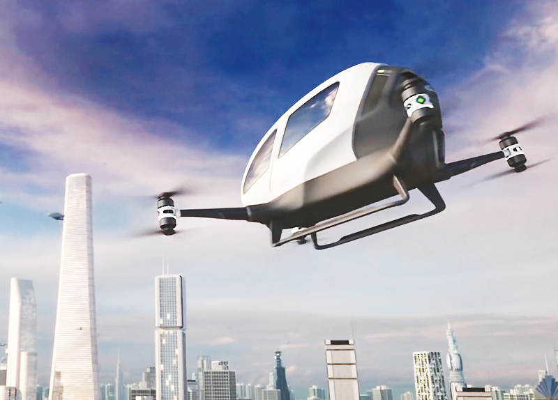 Flying Taxi in Dubai
