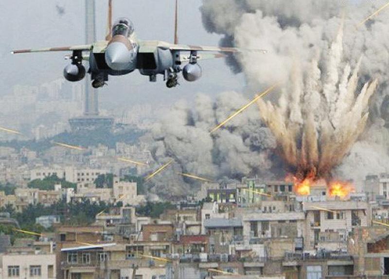 US Airstrike on Syria0