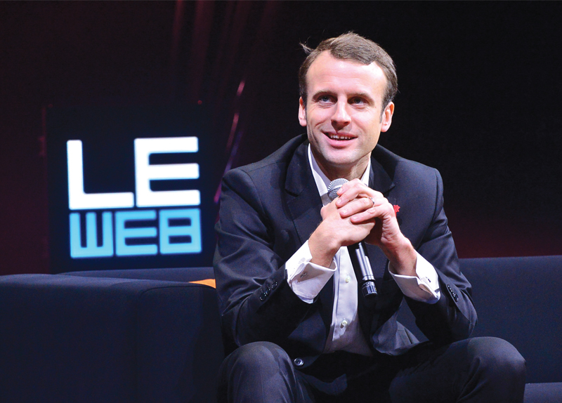 Macron Is France's New President0