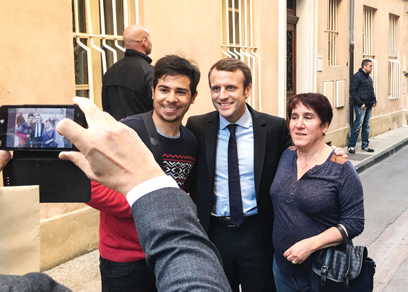 Emmanuel Macron Inaugurated as New French President0