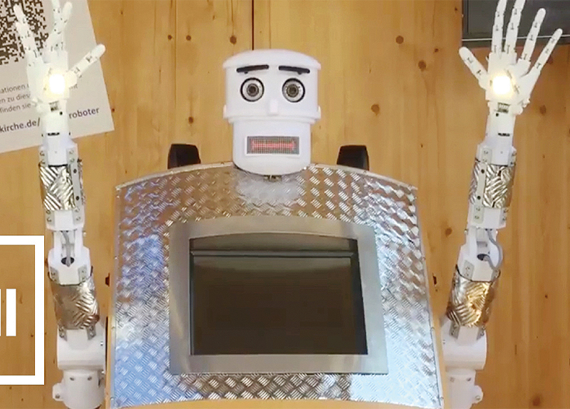 Robot Priest In Germany5