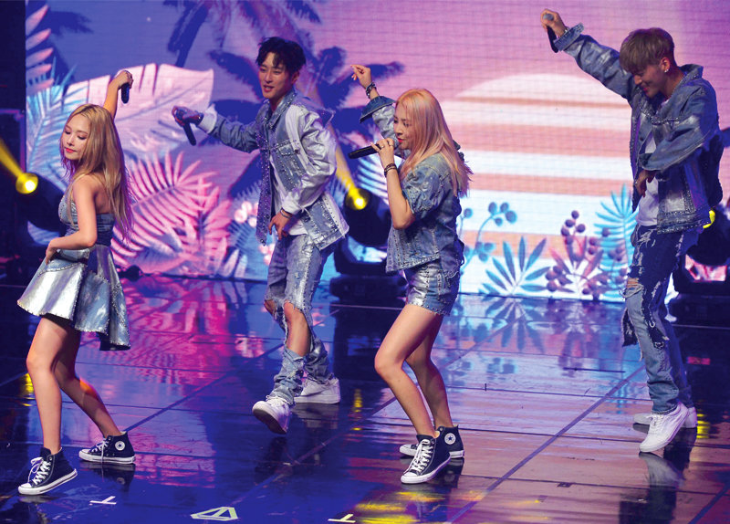 Co-ed K-pop Group KARD Debuts In Seoul0