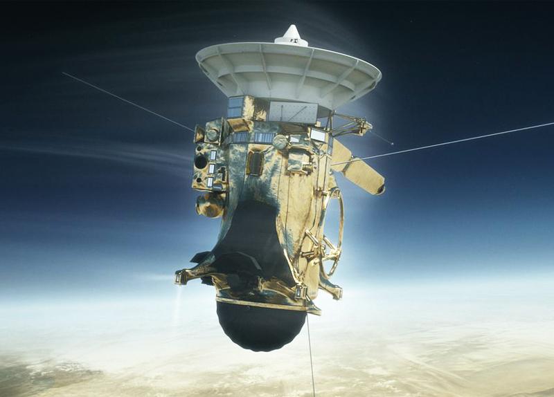 Farewell Cassini Probe