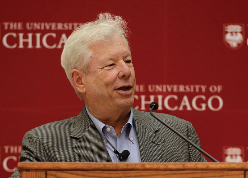 Richard Thaler Wins Nobel Prize in Economics0