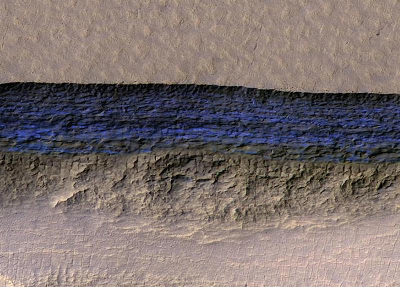 Ice Cliffs Found On Mars