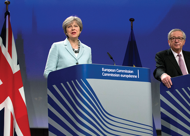 Brexit Agreement Draft Sparks Controversy0