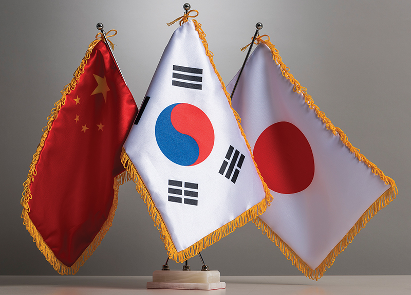 The China-South Korea-Japan Trilateral Summit0
