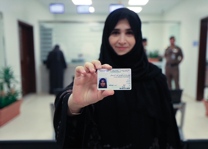 Saudi Arabia Issues First Driver's Licenses To Women0