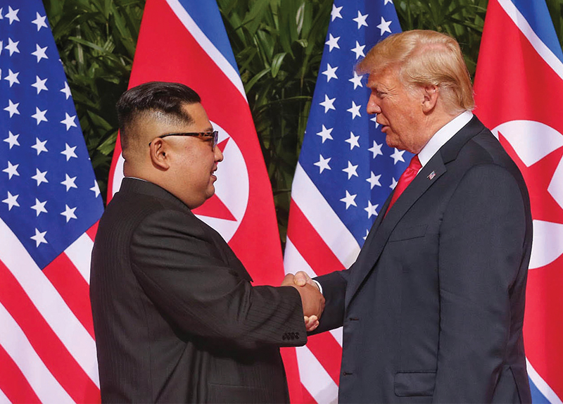 Trump And Kim Sign A Joint Statement0