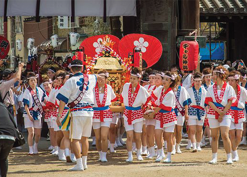 Tenjin Festival0