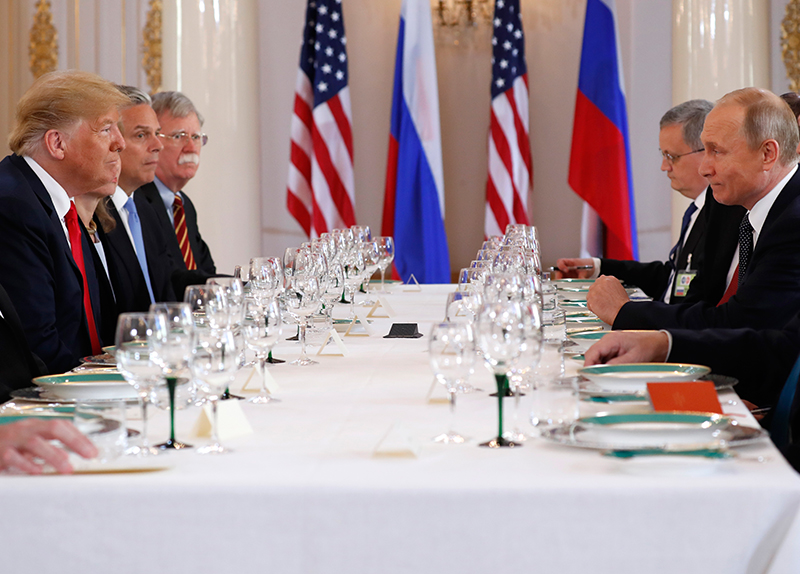 Trump Meets Putin0