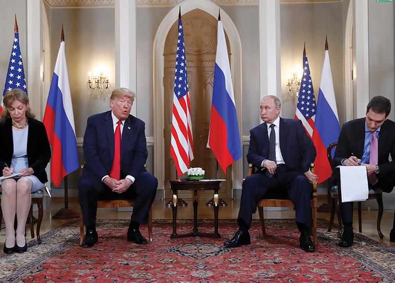 Trump Meets Putin7