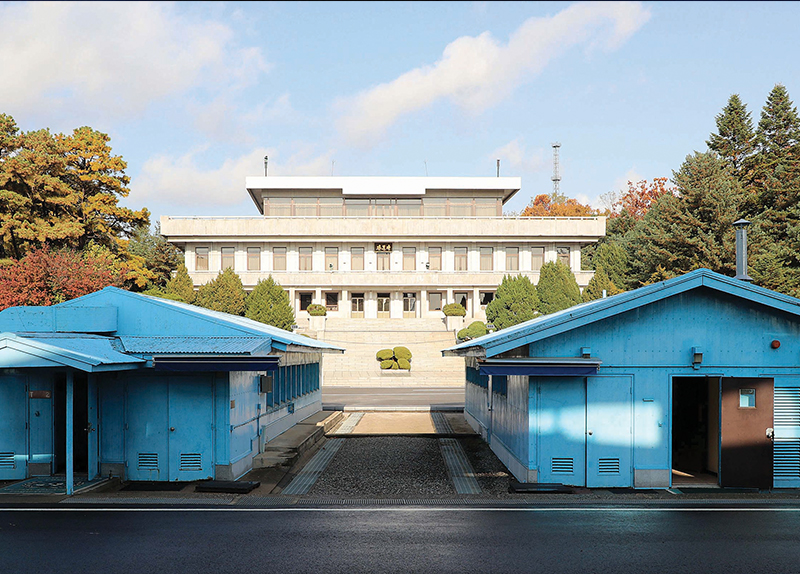 North And South Korea Disarm The Joint Security Area0
