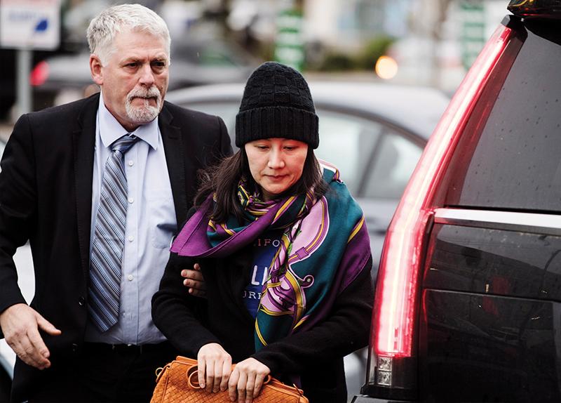 Huawei CFO In Legal Limbo In Canada5