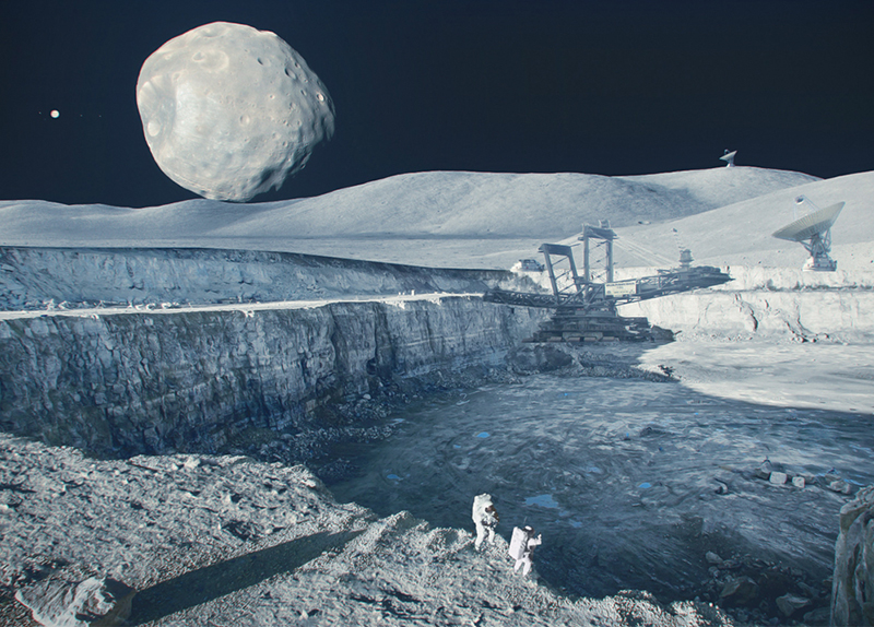 Russia And Luxembourg To Start Mining In Space0