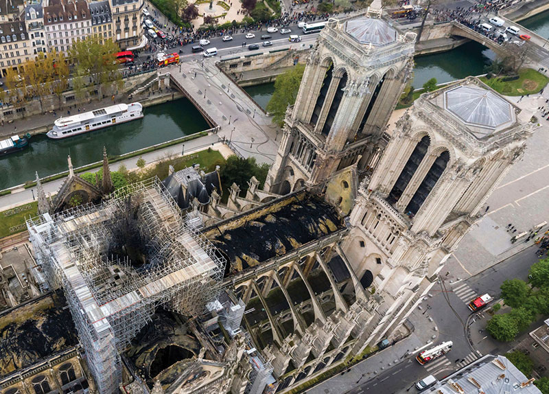 The Notre-Dame Fire0