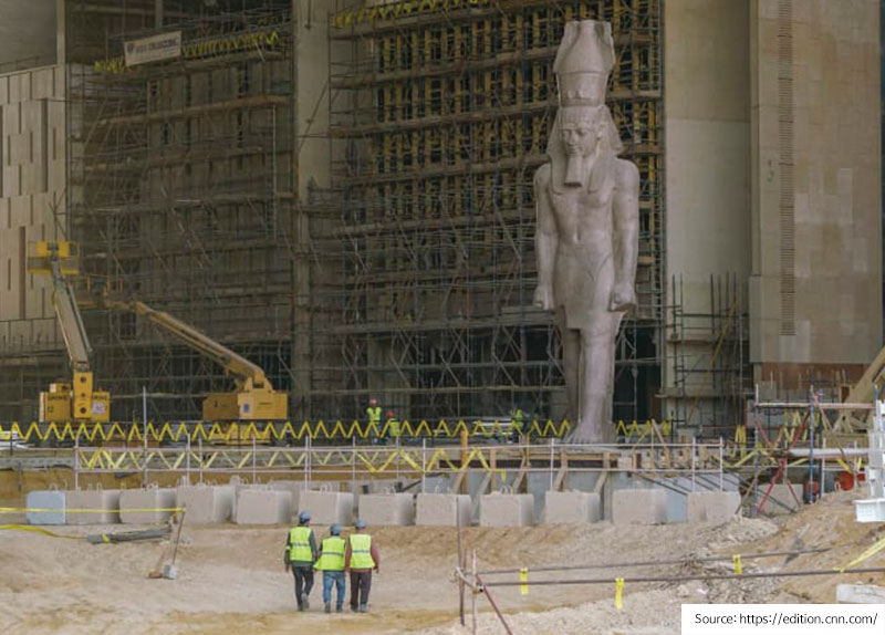 Egypt's Relics Will Have a New Home0