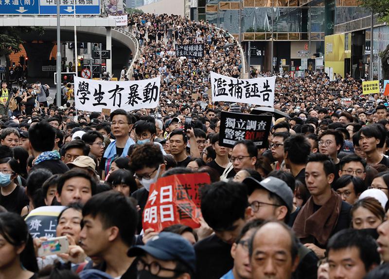 Hong Kong Protests0