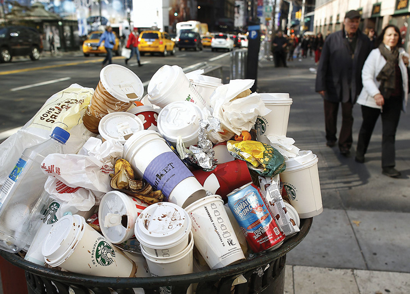 The U.S. Named No. 1 Trash Producer0