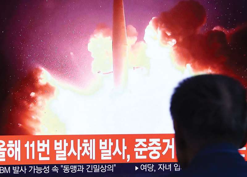 North Korea Launches Missile as Talks With U.S. Collapse3