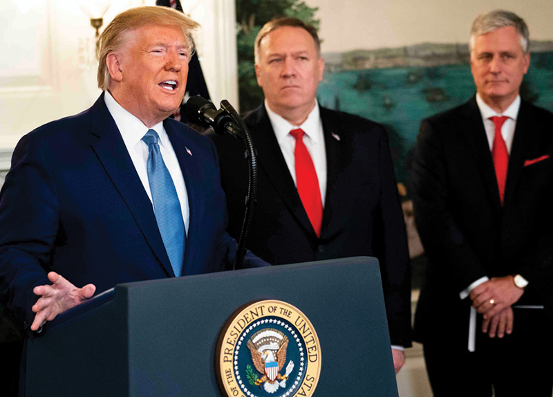 Trump Orders Military to Protect Oil While Abandoning Allies3