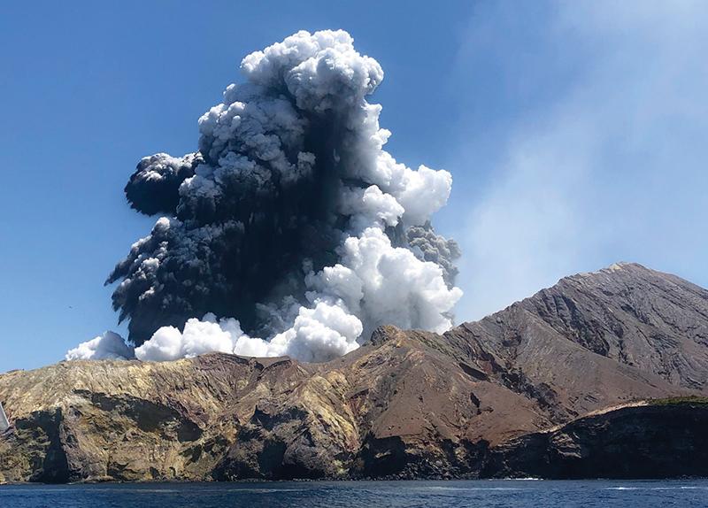 Deadly Volcano Eruption in New Zealand0