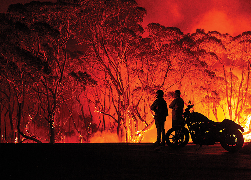 Man Wins Lottery After Losing Home to Bushfires