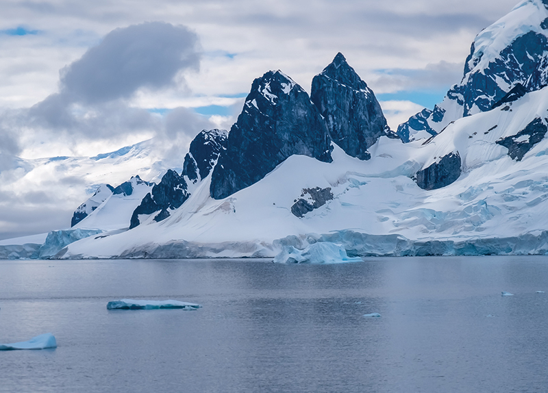 Antarctic Temperature Rises Above 20 Degrees