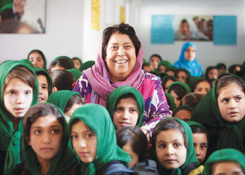 Hero of Girls' Education - Perspective