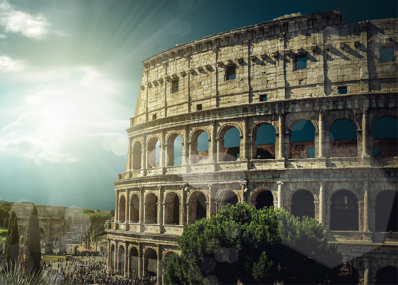 Grand Structures Of Ancient Romans - Arts