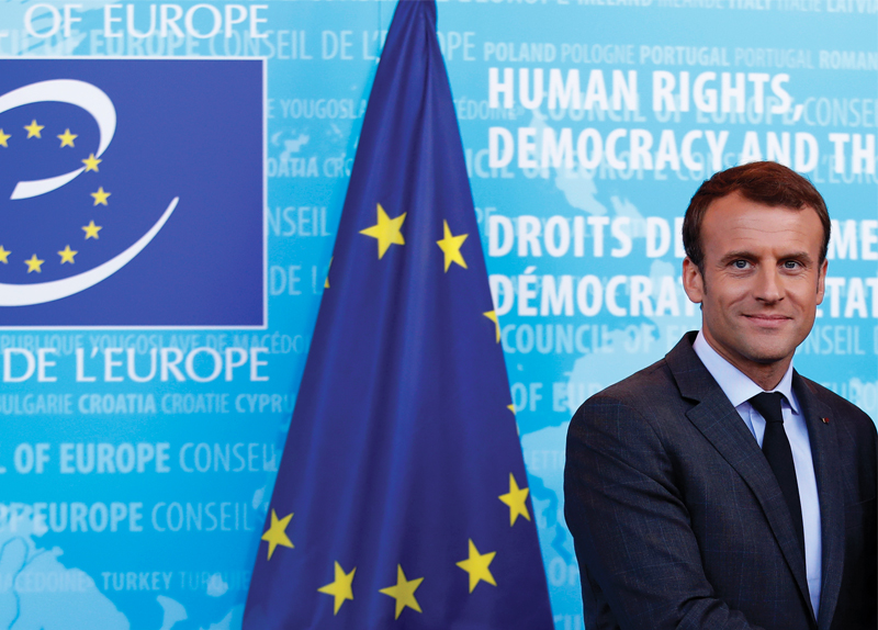 Emmanuel Macron Gets Stricter On Immigration - World on the Move