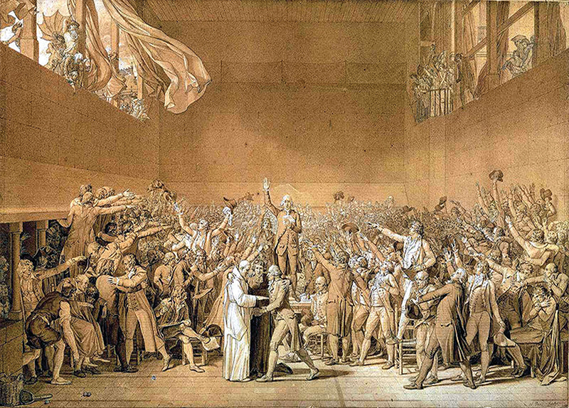 Jacques-Louis David And Propaganda During The French Revolution - Arts