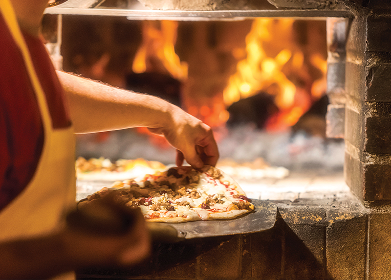 Pizza Physics: Italian Pizzas And Brick Ovens - Perspective